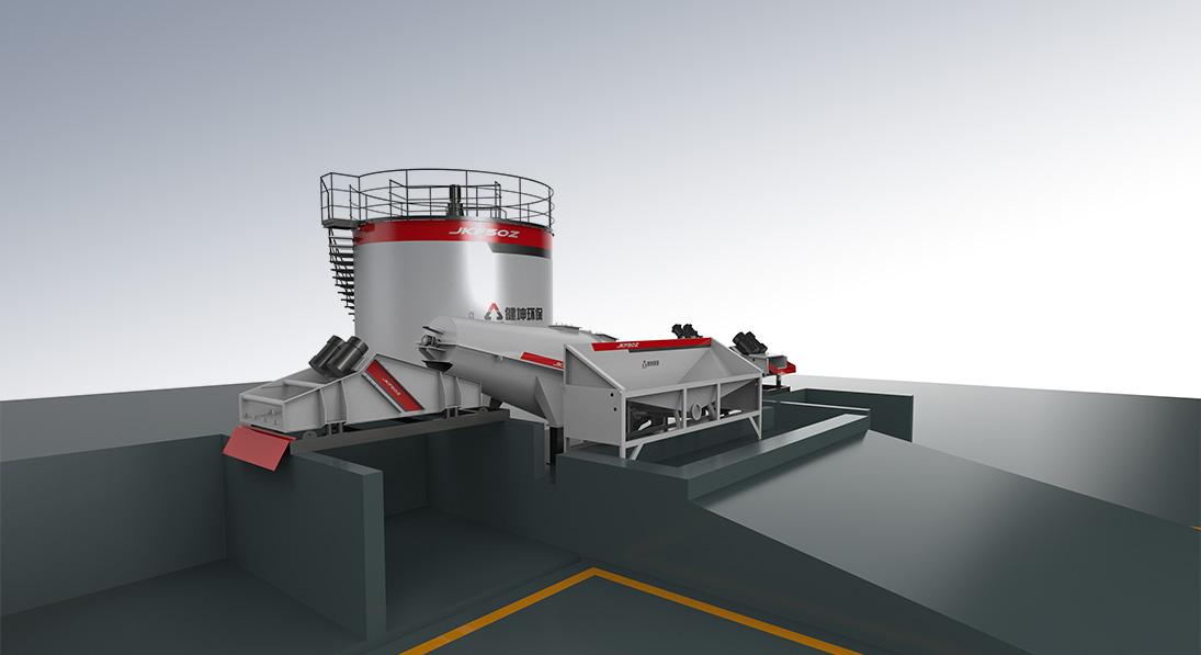 JKF-50型搅拌站污水处理系统